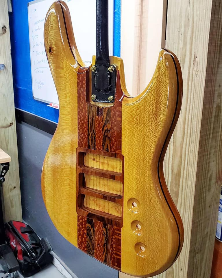 Redstone Bass Guitar latest project